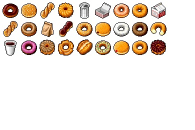 Hide's Donuts Icons