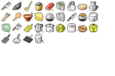 Hide's Kitchen 2 Icons