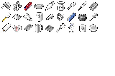 Hide's Kitchen 3 Icons