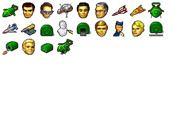 Hide's Thunderbirds Icons