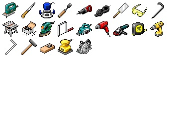 Hide's Tools Icons