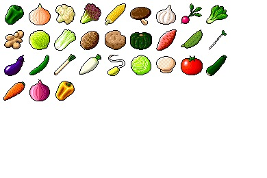Hide's Vegetable Icons