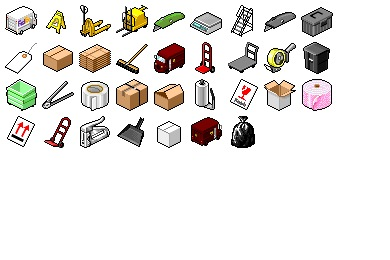 Hide's Warehouse Icons