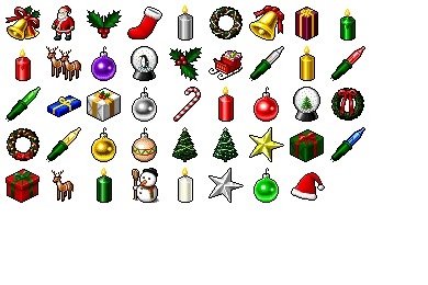 Hide's Xmas Icons
