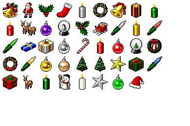 Hide's Xmas Icons