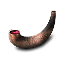 Horn cup icon