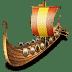 Viking-ship icon