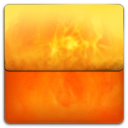 Fire Folder icon
