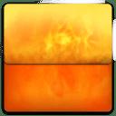 Fire Folder icon