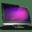 Computer Violet Space icon