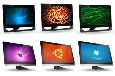 Claire Monitor Icons