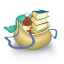 Bag-books icon