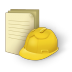 Document-construction icon