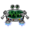 Robot-screen-settings icon