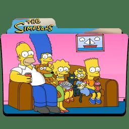 Simpsons Folder 18 icon