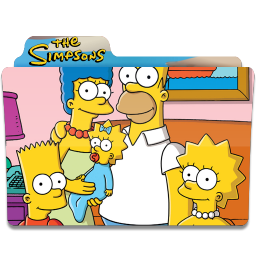 Simpsons Folder 26 icon