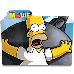 Simpsons Folder The Movie 02 icon
