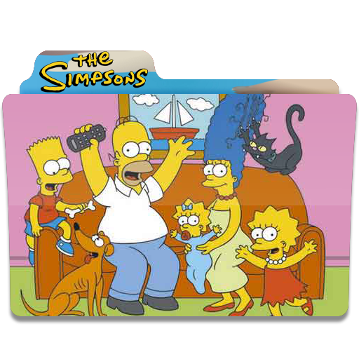 Simpsons-Folder-09 icon