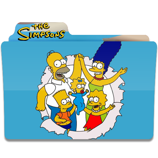 Simpsons-Folder-12 icon