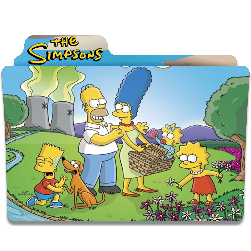 Simpsons Folder 14 icon