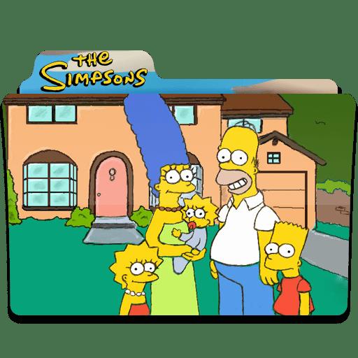 Simpsons Folder 19 icon