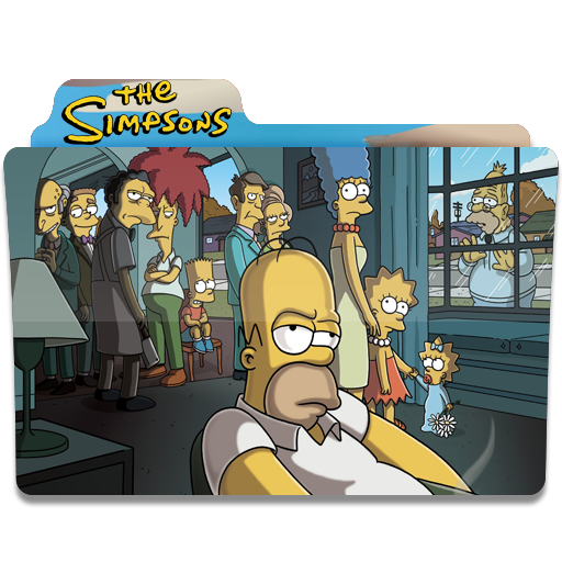 Simpsons Folder 21 icon