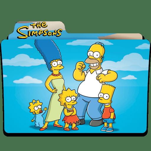 Simpsons Folder 22 icon
