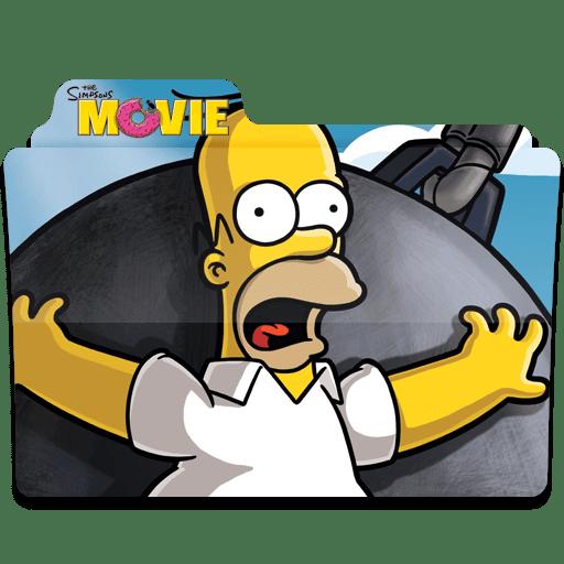 Simpsons Folder The Movie 02 icon