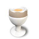 Boiled egg 2 icon