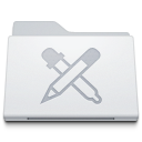 Folder Apps White icon