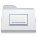 Folder Desktop White icon