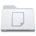 Folder-Documents-White icon