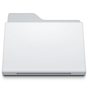 Folder Generic White icon