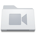 Folder-Movies-White icon