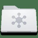 Folder Server White icon