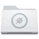 Folder-Sites-White icon