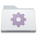 Folder Smart White icon