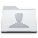Folder-Users-White icon