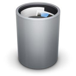 Dock Trash Full icon