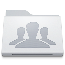 Folder Group White icon