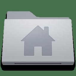 Folder Home Alternate icon