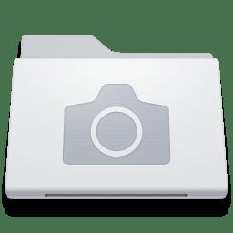 Folder Pictures White icon