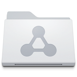 Folder Sharepoint White icon