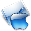 Apple aqua icon