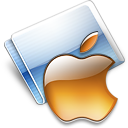 Apple tangerine icon