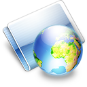 Online earth icon