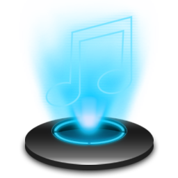 My music Icon | Holographic Iconset | radvisual