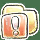 G12 Folder Important icon