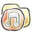 G12 Folder Music icon