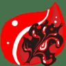 Folder-Red-burn icon
